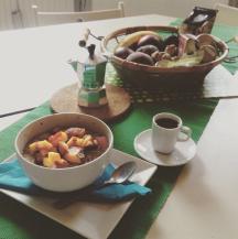 Sportler-Frühstück