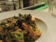 Ingwercurry mit Linsen und grünem Gemüse. Hier geht's zum Rezept: https://irishwallace.com/2016/01/28/ingwer-curry-mit-linsen-und-gruenem-gemuese/